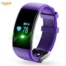 Original DFit D21 Heart Rate Monitor Smartband Waterproof Swim Smart Band Bracelet Health Fitness Tracker for