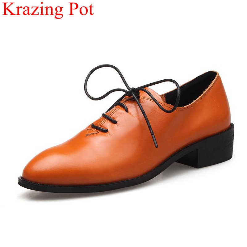 2017 New Fashion Large Size 34-42 Lace Up Round Toe Party Low Heel Women Pumps Wholesale Thick Heel Sweet Classic Lady Shoes L09 2017 new fashion brand spring shoes large size crystal pointed toe kid suede thick heel women pumps party sweet office lady shoe