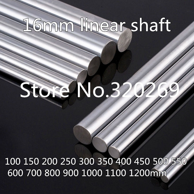 "16mm Shaft 30/"" Length Hardened Rod Linear Motion"
