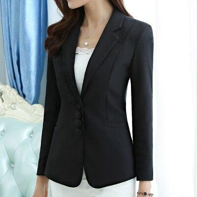 New Women's Blazer Elegant fashion Lady Blazers Coat Suits 3