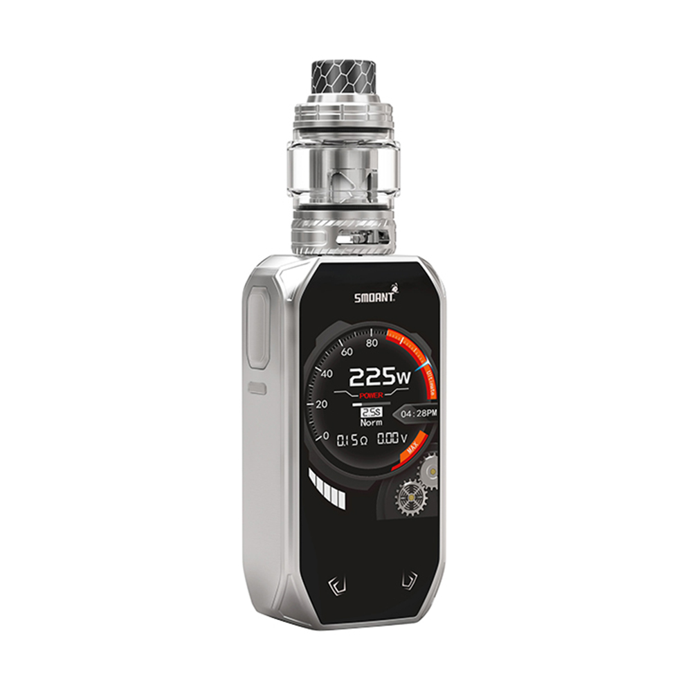 New 225W Smoant Naboo TC Kit with Naboo Tank 4ml/2ml & 2.4 Inch TFT Colorful Screen &no 186590 Battery VS Smoant Charon Vape Kit