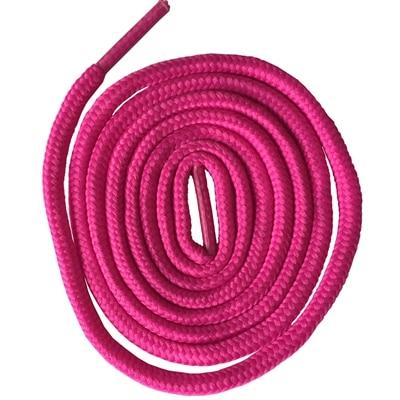 200 см очень длинные круглые шнурки Шнуры Веревки для ботинок martin спортивная обувь - Цвет: 13 deep pink