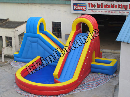 2017 Hot Sale Cheap Commercial PVC Giant Inflatable Water Slide for kids and adult with CE Standard and Blower high quality competitive price inflatable slide for kids and adult on sale