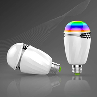 E27 120 Dgree Angolo a Fascio Intelligente Controllo Vocale 3 W LED HA CONDOTTO LA Luce per Camera Da Letto Home Decor