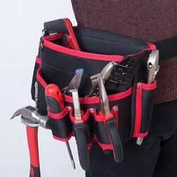 Gorąca profesjonalna torba na narzędzia elektryczne śruby gwoździe wiertła bity worek do przechowywania narzędzia do napraw ręcznych uchwyt wielofunkcyjne torby w Torby narzędziowe od Narzędzia na
