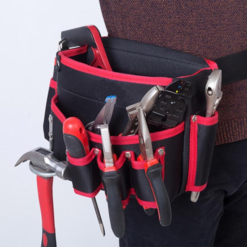 Hot Professional Electrician Tool Bag Screws Nails Drill Bits Storage Bag Hand Repair Tools Holder Multifunction Bags