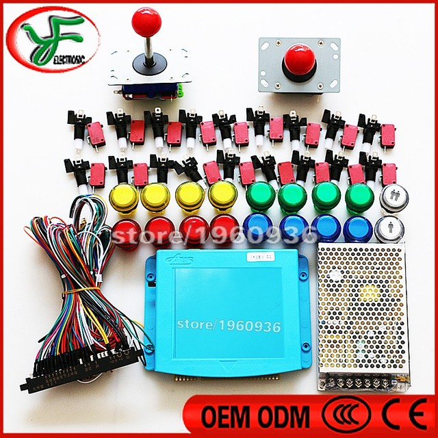 999 in 1 Board Coin Acceptor Power Supply Jamma Wiring Harness ...