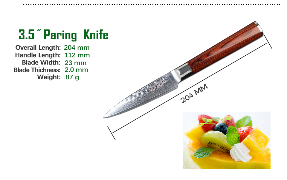 Paring Knife Set