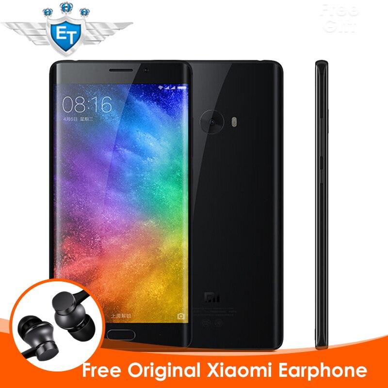 Цена за Оригинал xiaomi mi note 2 премьер смартфон 6 ГБ ram 128 ГБ глобальный ROM Snapdragon 821 Quad Core 22.56MP Камеры Отпечатков Пальцев ID NFC