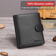 X.D.BOLO Leather Men Wallet Fashion Coin Purse Card Holder G