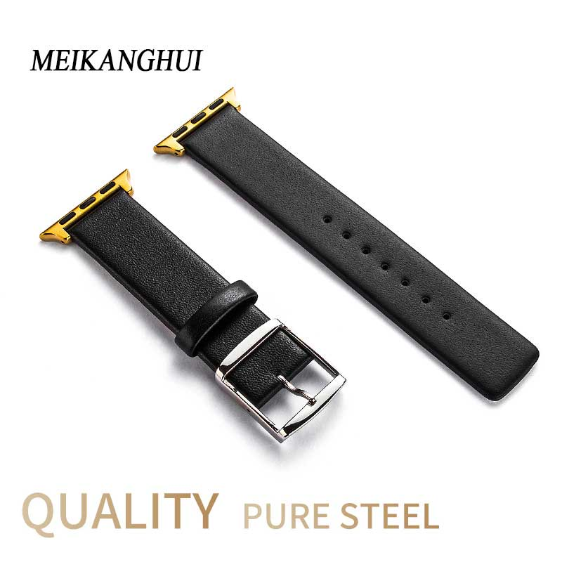 Genuine Leather Watch band pulseira Strap for iWatch Apple Watch 38mm 42mm Montre Femme Applewatch Band Relogio Wrist BraceletGenuine Leather Watch band pulseira Strap for iWatch Apple Watch 38mm 42mm Montre Femme Applewatch Band Relogio Wrist Bracelet