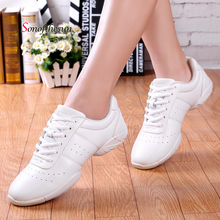 Adult Children Dance Shoes Breathable Jazz Ballet Latin Women Modern Sneakers Cheerleading