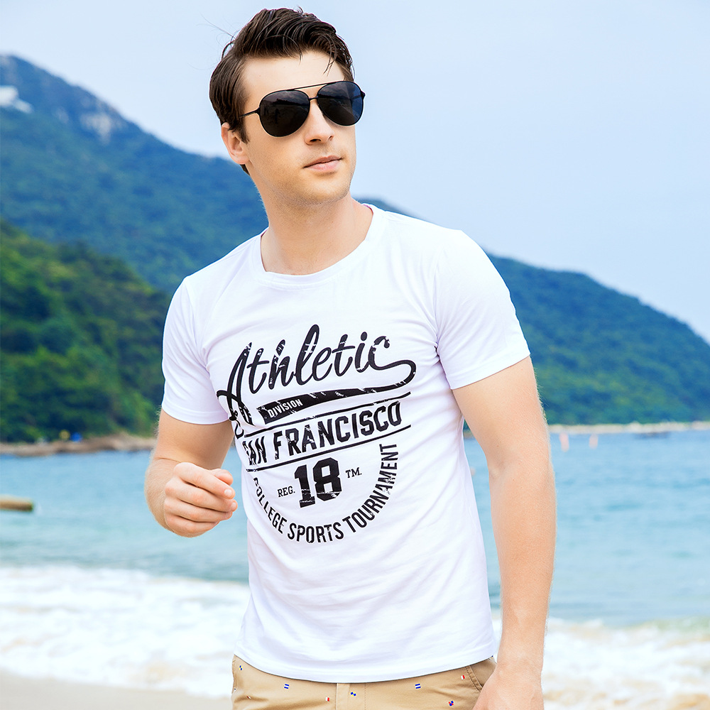 2018 T Shirts Mens Casual Punk Summer Fashion Mens Tops T-shirt tshirt Cotton DJ Singer Rock Hip Hop Streetwear Track Suit