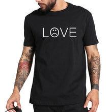 d55b164f3 Gildan Lil Peep LOVE T-shirt Men Casual Shirt Hip Hop Lil-Peep Rapper Tee  Sad Face Boys Cotton Tshirts Summer Tops Homme