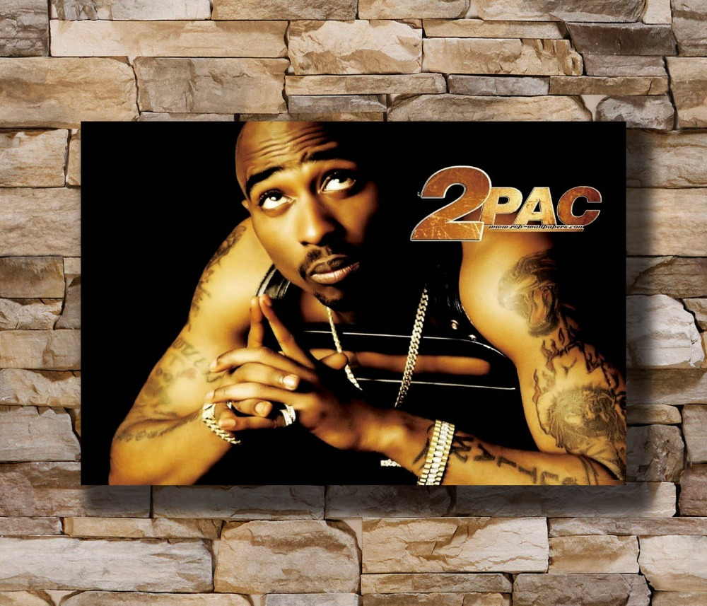 N-1814 TUPAC 2Pac Hip Hop Rapper Music Singer Star Fabric POSTER 20x30 24x36