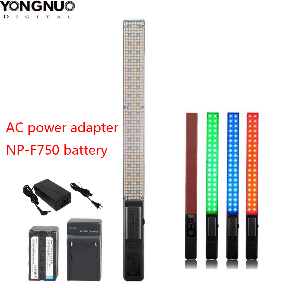 Yongnuo YN360 LED ICE Stick Video Light Handheld LED Photographic Studio Lighting Bi color 3200k to
