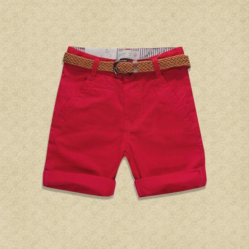 Teen 2017 Summer New Children Short Pants Boys Kids Cotton Casual - Ubrania dziecięce - Zdjęcie 2