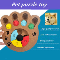 1PC Hot sale Rubber Resistant Bite brain game Chew Training Toy Dog bowl For Pet Dog Cat Puppy