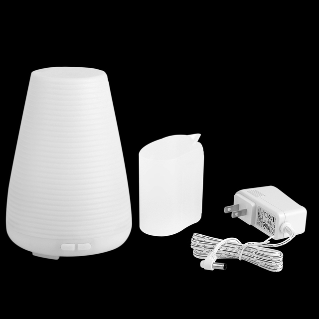 100ml Ultrasonic Portable Air Humidifier Aroma Diffuser Aromatherapy Diffuser With Warm Colorful Led Light