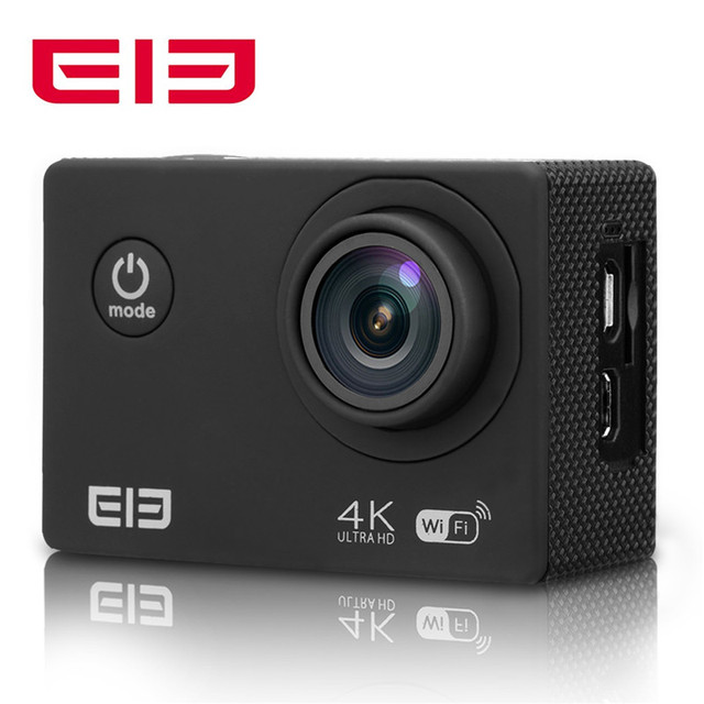 Hot Elephone ELE Explorer 2.0 inch 4K 15fps 16MP H.264 WIFI 170  Wide Lens Waterproof Ultra HD Action Camera Sports DV Cam