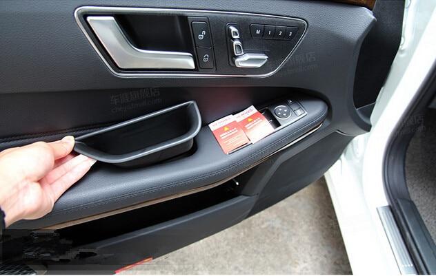 Mercedes W204 4 Stücke Türgriff Raum Container Armlehne Lagerung Inserttray