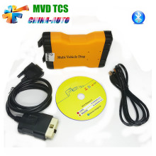 10pcs/lot DHL Free New MVD TCS Mulit Vehicle Diag CDP With Bluetooth OBD2 Auto Diagnostic Tool For Cars/Trucks NEW VCI