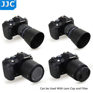 Image 5 - JJC Reversible Lens Hood Shade For OLYMPUS M.ZUIKO  DIGITAL ED 40 150mm 1:4.0 5.6 R Repaces Olympus  LH 61D Black Silver