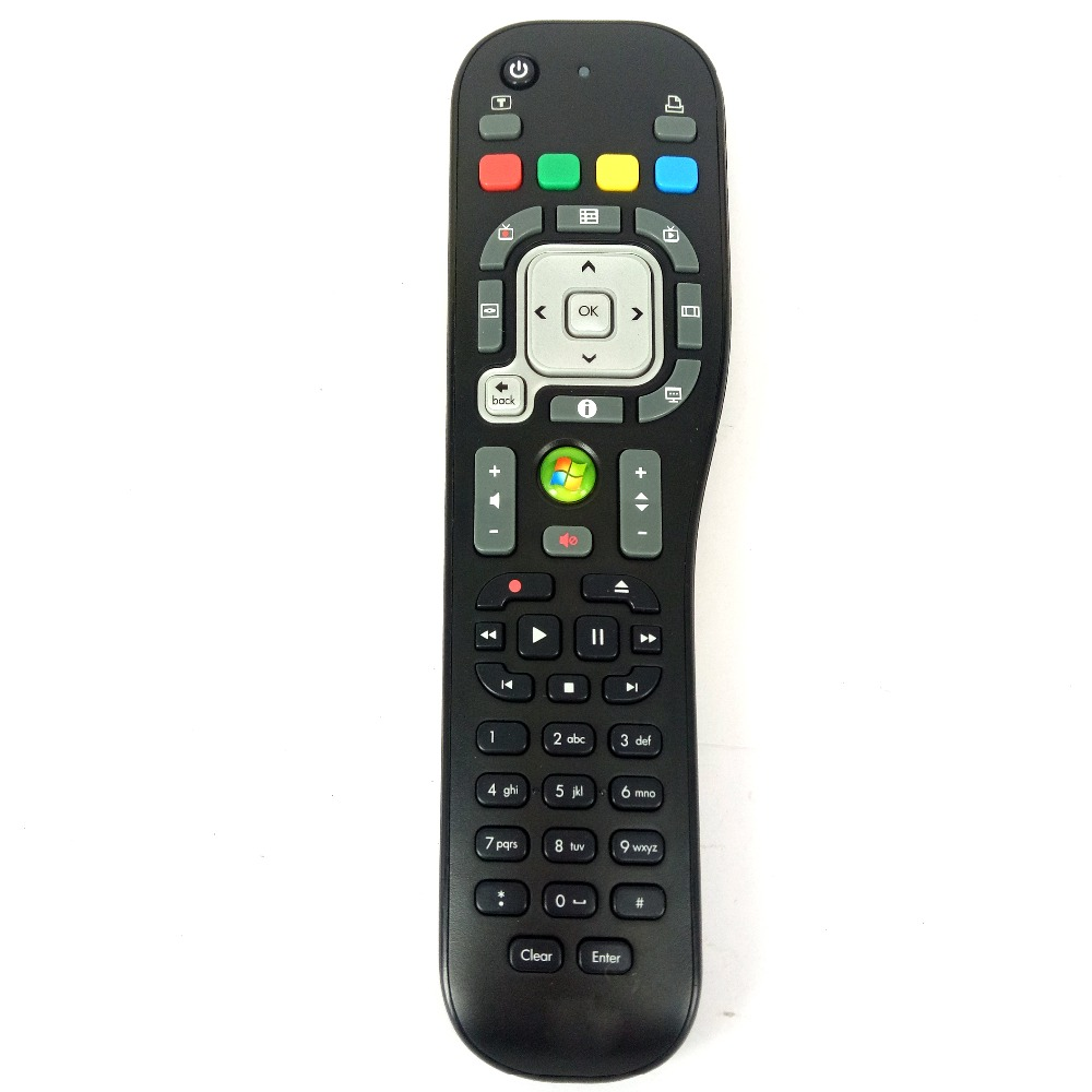 Used Original TSGH-IR03 P/N:589761-ZH1 For HP PC Media Center System Remote Control WINDOWS Desktop Fernbedienung ...