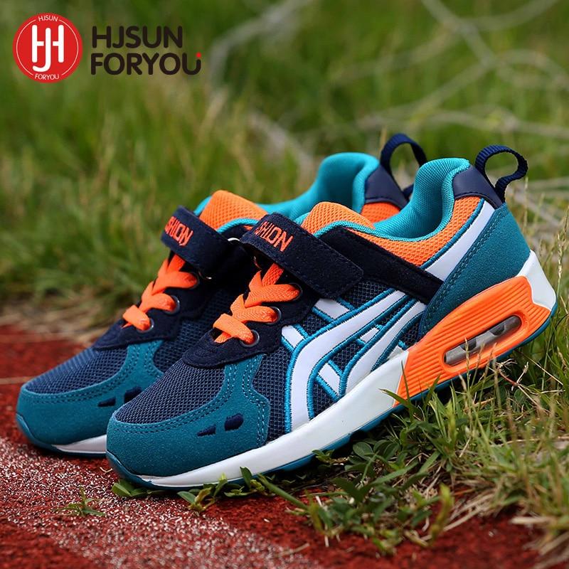 2020 Autumn Children Shoes Boys Girls Air Cushion Shoes Comfortable Kids Fashion Sneakers Child Sports Shoes