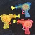 2017 Новый Bubble Gun СВЕТОДИОД, Просвечивающий Открытый Игрушки Дети Soap Bubble вентилятор Детей Детские Игрушки Подарок Детский Водяной Пистолет Пузыри Машины Игрушки