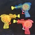 2017 nuevos juguetes kids soap bubble bubble pistola led brillante al aire libre soplador de Niños Bebé de Juguete de Regalo Niños Juguetes Pistola De Burbujas De Agua Máquina