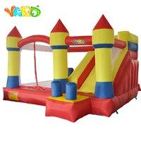 Yard/надувной батут для игр, замок с преградой, горка, воздуходувка 4x3,8x2,5 м, для домашнего использования, батут для детей, экспресс доставка, ро