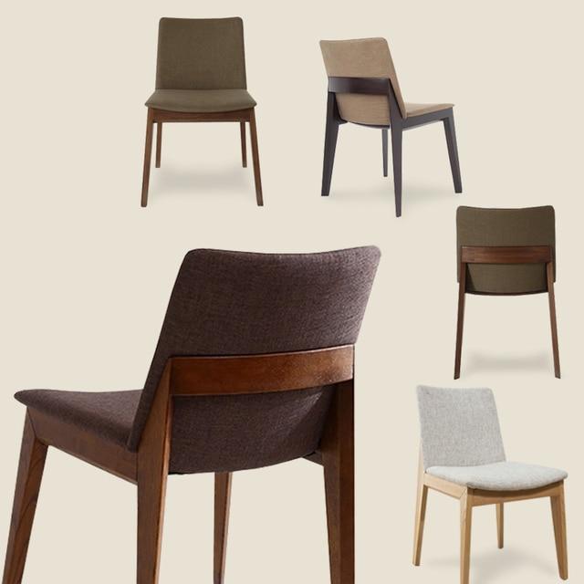 nordic ikea bois massif chaises salle manger moderne minimaliste maison modle design chaises caf chaises