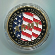 Free Shipping 50pcs/lot,US ARMY Special Forces Group Commemorative Challenge Coin