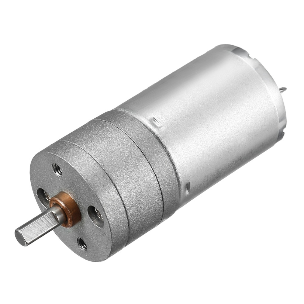 Uxcell Newest DC mini Gear Motor 6V 80mA 1363RPM 0.1kg.cm Loading Torque High Temperature Resistance DIY Electrical Appliances-in DC Motor from Home Improvement