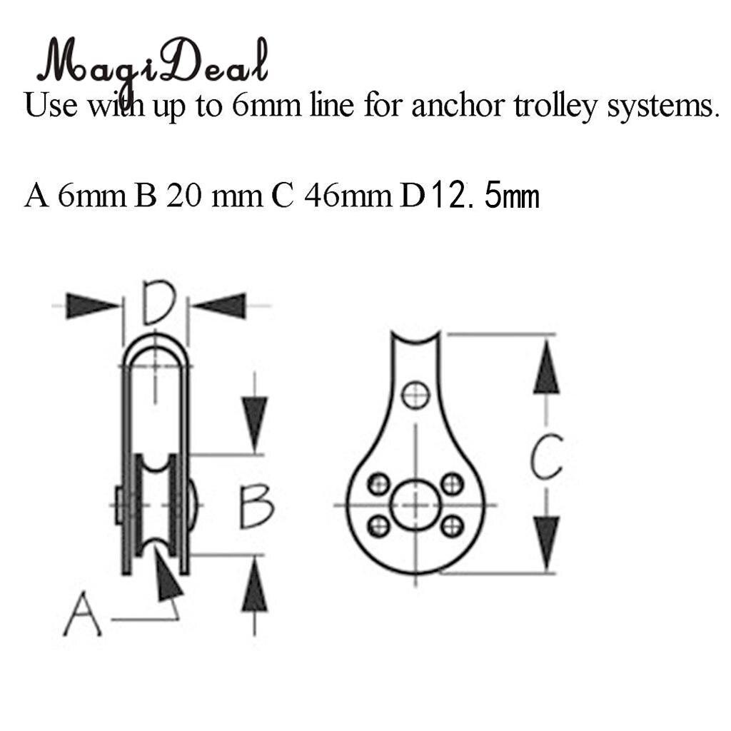 MagiDeal Жоғары сапасы 1Pc M5 Marine Grade - Су спорт түрлері - фото 5