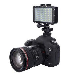 Image 2 - GoPro 8 Ultra Luminoso 1800LM Photo Studio Video Lampada Della Luce 3 Modalità di 5500K LED di Immersione Subacquea Fill in Luce per GoPro Xiaomi Yi SJCAM Macchina Fotografica