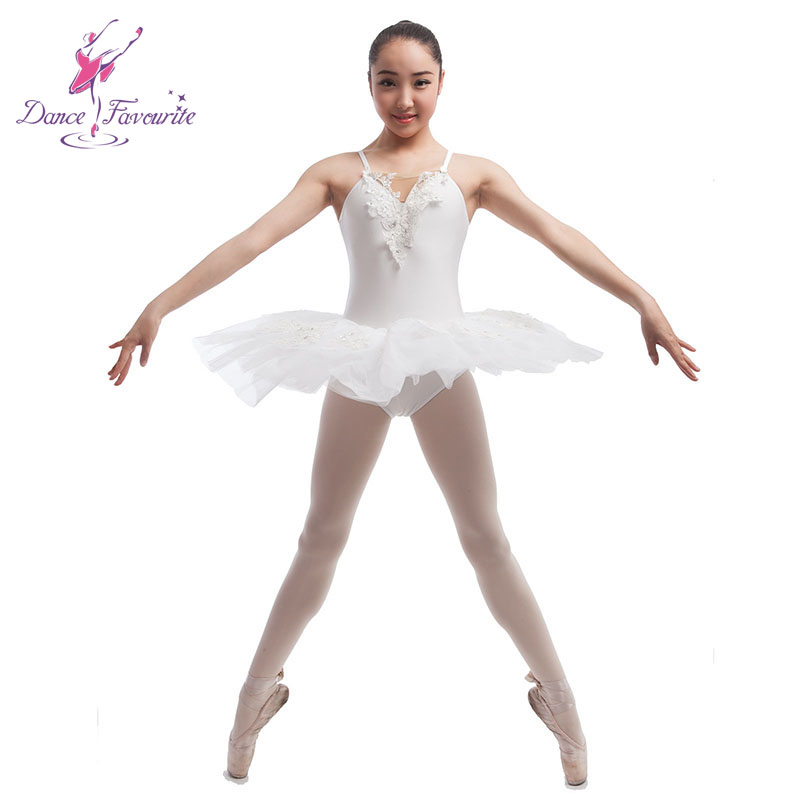 Dance Favourite White Stage Performance Ballet Costume Tutu, Ballerila Dance tutu, Lady dance costume girl ballet tutu