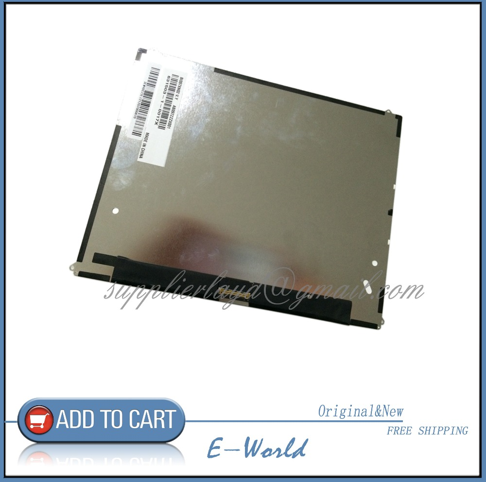 Original 9.7inch LCD screen for for Turbopad 910 free shipping