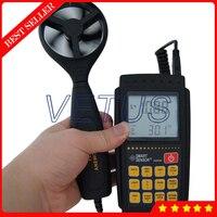 AR856 цифровой анемометр ветер Датчики скорости с USB подключение для передачи данных