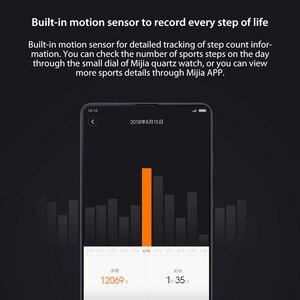 Image 5 - Смарт часы Xiaomi Mijia Quartz, водонепроницаемые умные часы с корпусом из нержавеющей стали, 3ATM, шагомер, умная вибрация