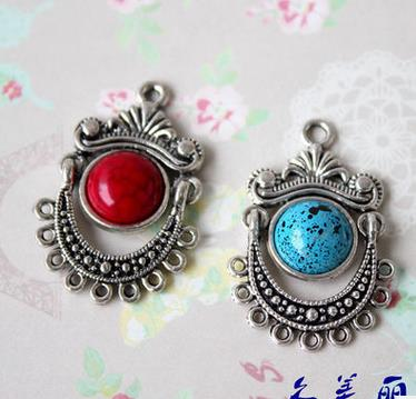 New arriver 5pcs red antique silver boho tribal chandelier earring new arriver 5pcs red antique silver boho tribal chandelier earring findings 3121mm diy accessory jewelry making in jewelry findings components from aloadofball Choice Image