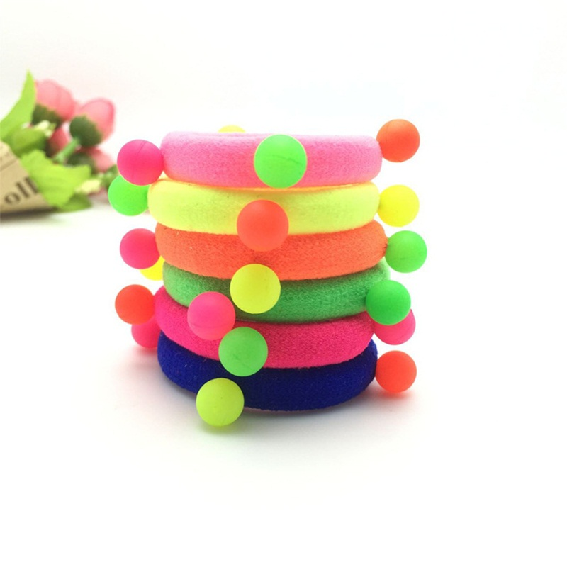 1PCS Colorful beads Hair Accessories For Women Headband,Elastic Bands For Hair For Girls,Hair Band Hair Ornaments For Kids love crown solid hair accessories for women headband elastic bands for hair for girls hair band hair ornaments for kids
