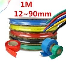 Heatshrink Tubing-Tube Sleeving-Wrap-Wire Connector-Repair DIY 2:1-Colours 12--90mm-Diameter