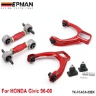 Rear Lower Control Arms+ Front Camber Kits Fits For Honda Civic CX Si EP-FCACA-02EK