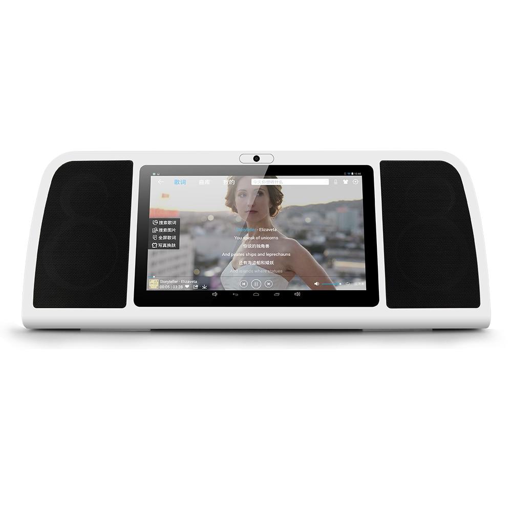 Bluetooth Wireless Speaker Smart HiFi Media font b Player b font w Camera With Android IPS