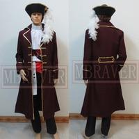 Hetalia: Axis Powers Spain Pirate Cosplay Costume Custom Made Any Size