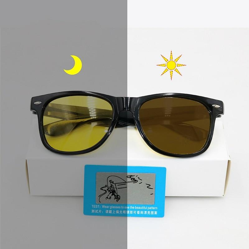 2018 Polarized Photochromic Sunglasses Women with Transition Lenses Sun Glasses Men Discoloration 2140