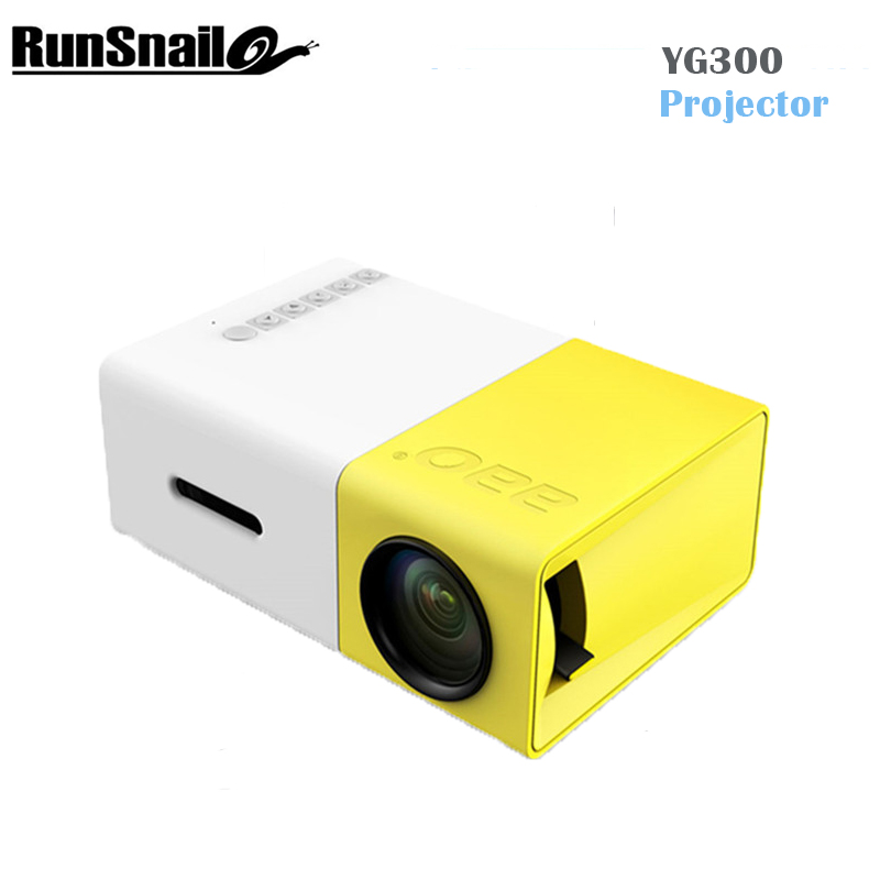 все цены на  YG300 LED Portable Projector 400-600LM 3.5mm Audio 320 x 240 Pixels YG-300 HDMI USB Mini Projector Home Media Player PK YG400  онлайн