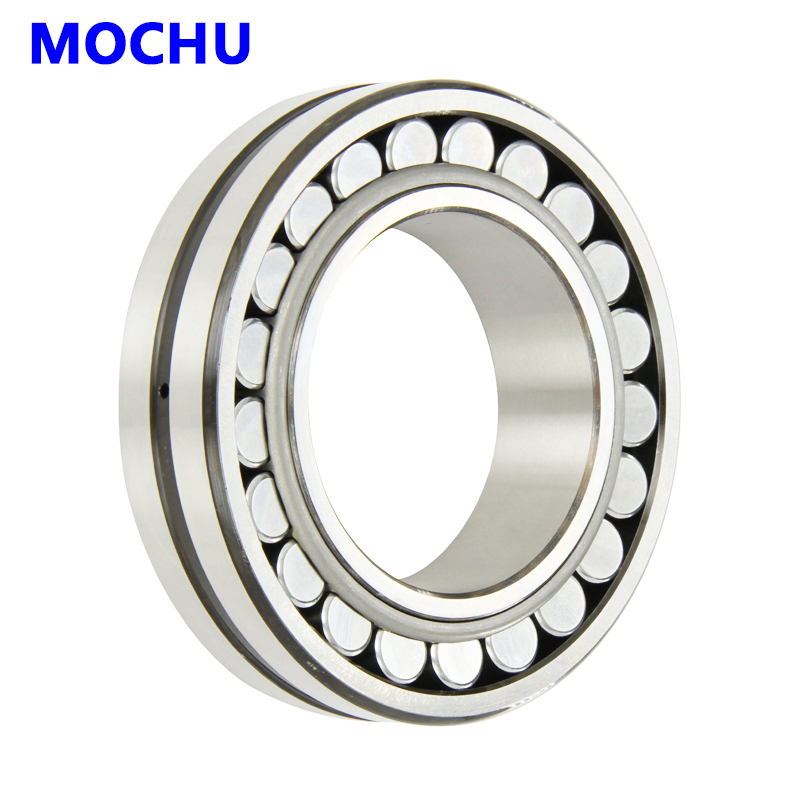 1pcs MOCHU 22207 22207E 22207 E 35x72x23 Double Row Spherical Roller Bearings Self-aligning Cylindrical Bore 1pcs 29256 280x380x60 9039256 mochu spherical roller thrust bearings axial spherical roller bearings straight bore